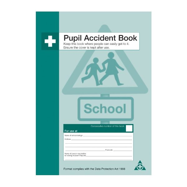 Pupil Accident Record Book