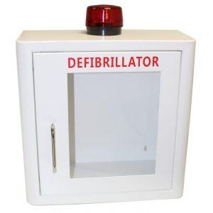 Defibrillator AED Wall Cabinet - Alarmed