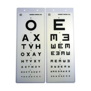 Distance Vision Sight Test Chart - 3M