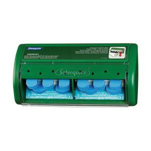 Cederroth Salvequick Dispenser with Blue Metal Detectable Plasters