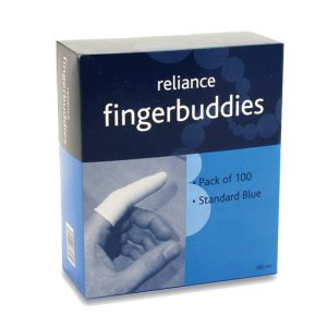Blue Fingerbobs / Finger Buddies Standard (100)