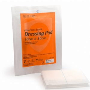 Absorbent Wound Dressing Pad 10cm x 10cm