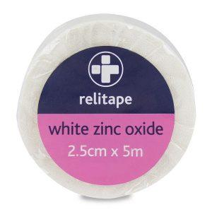 Zinc Oxide Sports Tape 2.5cm x 5m