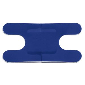 Blue Metal Detectable Plasters Knuckle / Anchor (50)