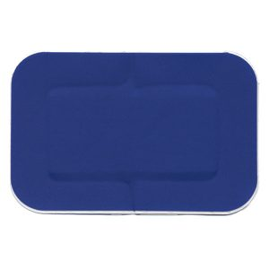 Blue Metal Detectable Plasters 7.5cm x 5cm (50)