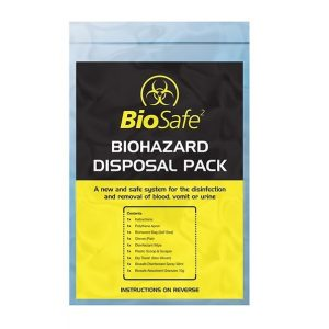 Bio-Hazard Body Fluid Disposal Kit - Single Application Refill Pack
