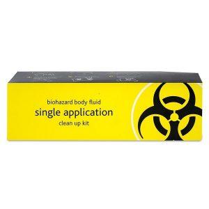 Bio-Hazard Body Fluid Disposal Kit - 1 Application