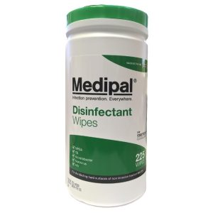 Hard Surface Disinfectant Wipes