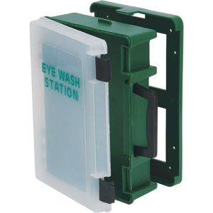 Covered Eyewash Cabinet - Empty