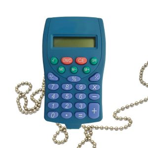 Metal Detectable Calculator - Pocket Sized Calculator