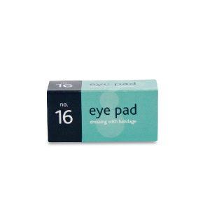 Boxed Eye Pad Wound Dressing No. 16