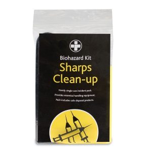 Bio-Hazard Sharps Disposal Kit - 1 Application