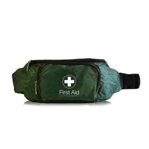 British Standard Compliant BS-8599-1 Blue Catering First Aid Kit in a Bum Bag Small