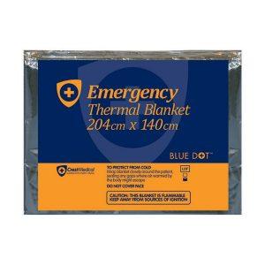 Emergency Foil Thermal Blanket Single Use