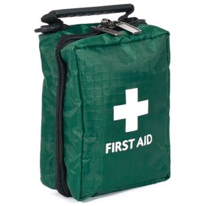 British Standard Compliant BS-8599-1 Blue Catering First Aid Kit in a Bag Small