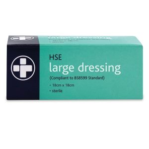 Boxed Large Sterile Wound Dressing 18cm
