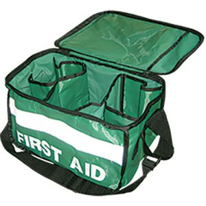 Empty First Aid Satchel With Compartments