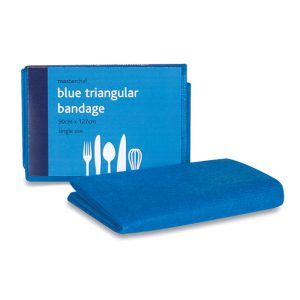 Blue Non Woven Triangular Bandage