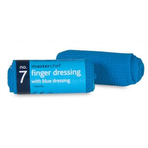 Blue Small Wound Dressing / Finger Dressing No. 7