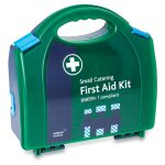 Blue British Standard BS-8599-1 Compliant Workplace Catering First Aid Kit Small