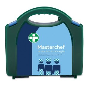 Blue Masterchef HSE Compliant Catering First Aid Kit 20 Person