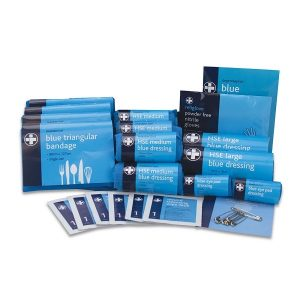 Blue Masterchef HSE Compliant Catering First Aid Refill Kit 10 Person