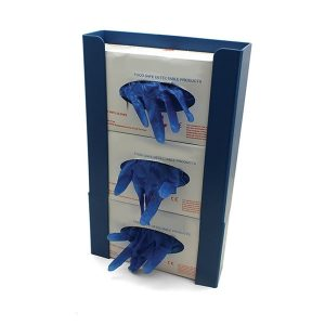 Metal Detectable & X-Ray Visible Wall Mounted Gloves Dispenser - 3 Boxes