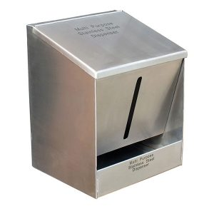 Multipurpose Stainless Steel PPE Dispenser