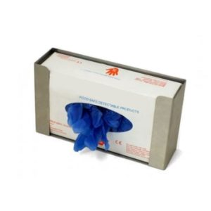 Metal Detectable Stainless Steel Wall Mounted Gloves Dispenser - 1 Box