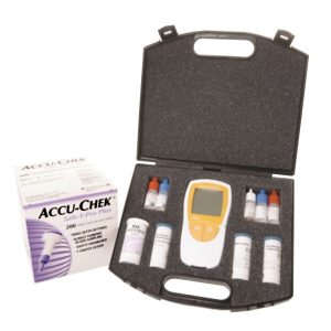 Roche Accutrend Plus GC Kit Complete with Glucose & Cholesterol Test Strips